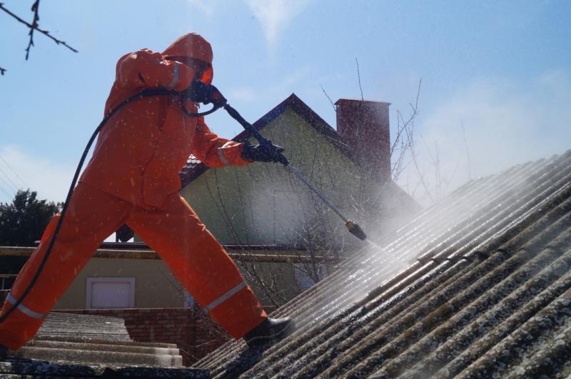 чистка крыши 2