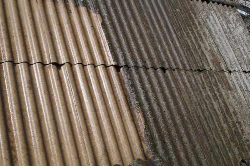 чистка крыши 1